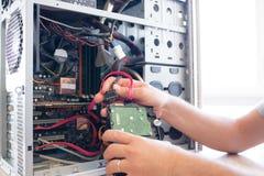 Computador do doutor Fotografia de Stock Royalty Free