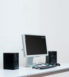 Computador do estúdio Fotos de Stock Royalty Free