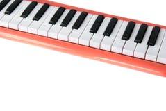 Computador do piano Imagens de Stock Royalty Free