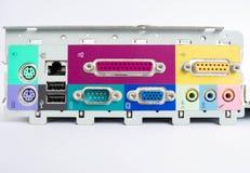 Computador do porto Imagem de Stock