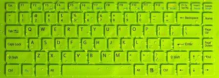Computador do teclado imagens de stock