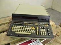 Computador do vintage de Roma imagem de stock
