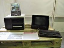 Computador do vintage de Roma imagens de stock royalty free