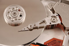 Computador Harddrive Fotos de Stock
