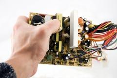 Computador inside2 Imagens de Stock