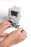 Computador minúsculo Fotografia de Stock