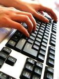 Computador no escritório #2 foto de stock
