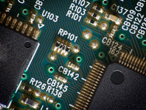 Computador para dentro Imagem de Stock Royalty Free