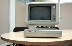 Computador pessoal do vintage Fotografia de Stock Royalty Free