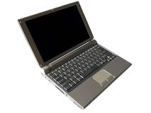 Computador portátil Foto de Stock