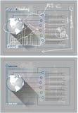 computador portátil da placa 3D ilustração royalty free