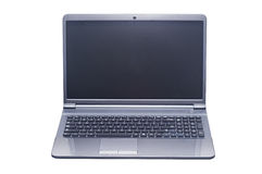 Computador portátil isolado Fotos de Stock Royalty Free