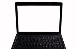 Computador portátil pessoal Foto de Stock Royalty Free