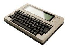 Computador velho Foto de Stock
