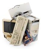 Computador velho Imagens de Stock Royalty Free