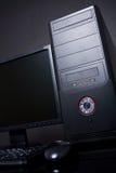 Computadora de escritorio Foto de archivo