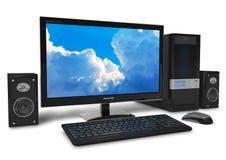 Computadora de escritorio Imagen de archivo