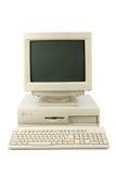 Computadora de escritorio Fotografía de archivo