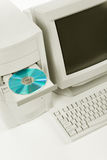 Computadora de escritorio Fotos de archivo libres de regalías