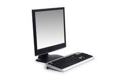 Computadora de escritorio aislada Foto de archivo libre de regalías