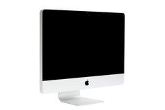Computadora de escritorio del nuevo iMac Foto de archivo libre de regalías