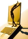 Computadora portátil foto de archivo