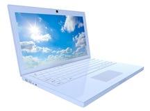 Ordenador portátil Fotografía de archivo libre de regalías