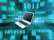 Computadora portátil Imagenes de archivo