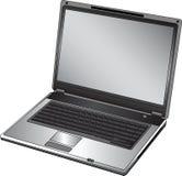 Computadora portátil abierta vector imágenes de archivo libres de regalías
