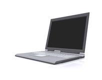 Computadora portátil aislada Imagen de archivo libre de regalías