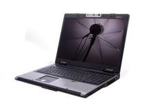 Computadora portátil aislada fotos de archivo