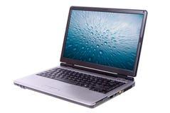 Computadora portátil aislada fotografía de archivo libre de regalías