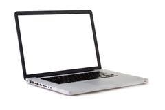 Computadora portátil aislada Fotos de archivo libres de regalías