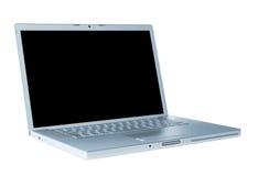 Computadora portátil aislada Foto de archivo libre de regalías