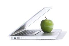 Computadora portátil de Apple foto de archivo