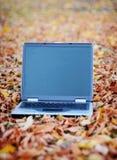 Computadora portátil del asunto Imagenes de archivo