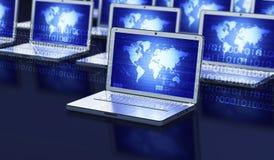Computadora portátil del Internet