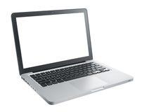 Computadora portátil del ordenador imágenes de archivo libres de regalías