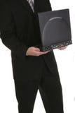 Computadora portátil dos del asunto fotos de archivo libres de regalías