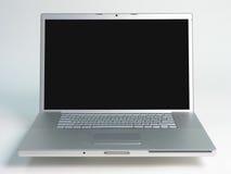 Computadora portátil en pantalla grande 04 Imagen de archivo libre de regalías