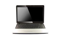 Computadora portátil moderna Imágenes de archivo libres de regalías
