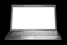 Computadora portátil moderna Imagenes de archivo