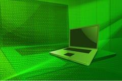 Computadora portátil moderna Fotos de archivo
