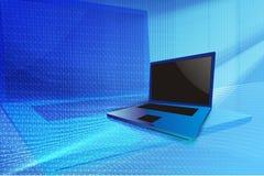 Computadora portátil moderna Fotografía de archivo libre de regalías