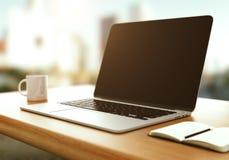 Computadora portátil moderna Imagen de archivo