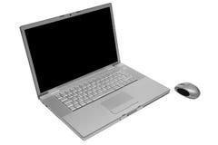 Computadora portátil moderna y de moda Foto de archivo