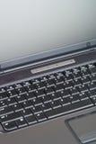 Computadora portátil para arriba 2 cercanos Imágenes de archivo libres de regalías