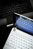 Computadora portátil y netbook Fotos de archivo libres de regalías