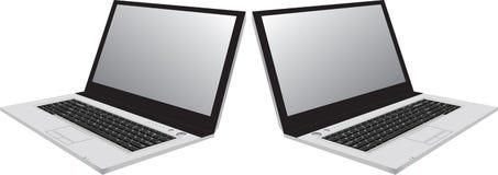 Computadoras portátiles Fotos de archivo