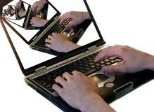 Computadoras portátiles Fotografía de archivo
